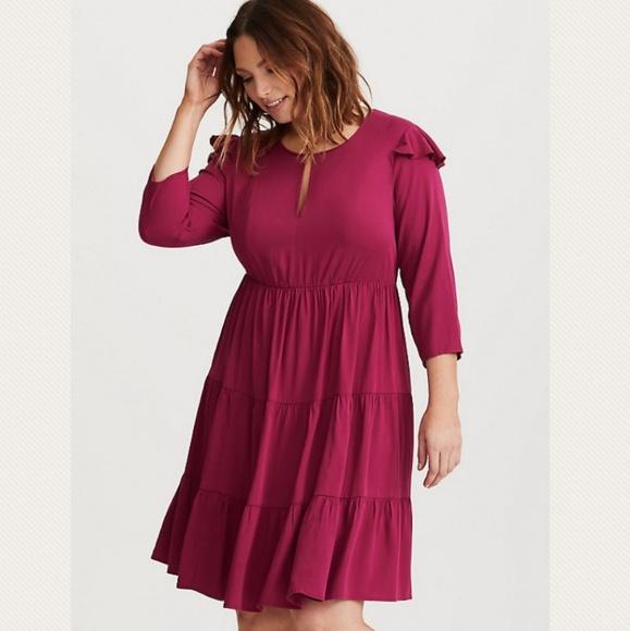 Valentine Skater Dress Torrid Plus Size 2 18 20 NWT